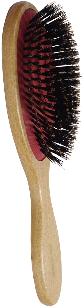 Расческа - щетка массажная волосяная большая