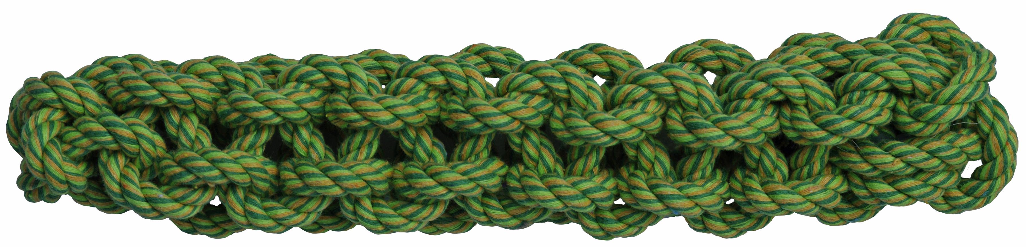 Веревочная палка зелен 28 см